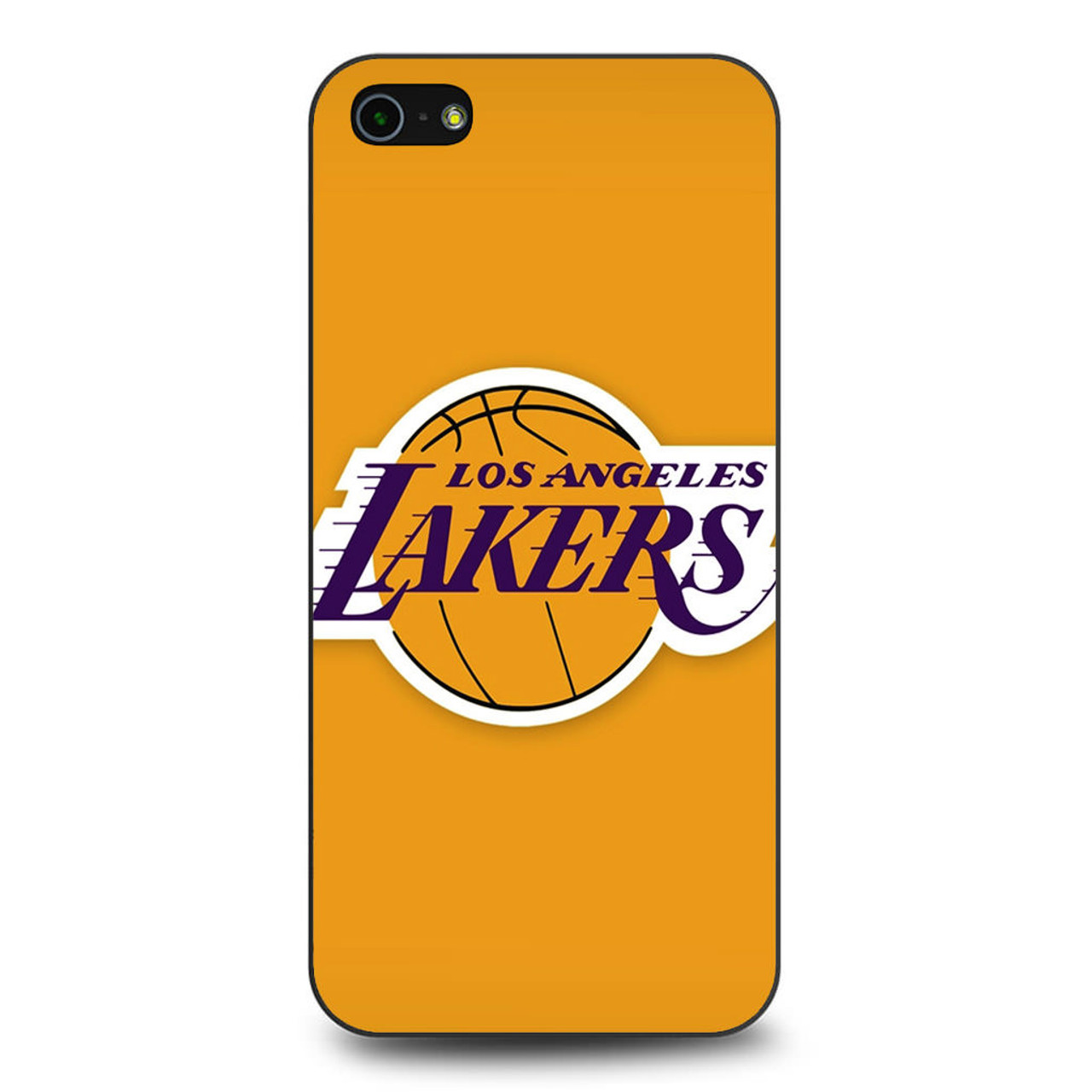 more photos c09df 0c016 Los Angeles Lakers Logo Nba iPhone 5/5S/SE Case