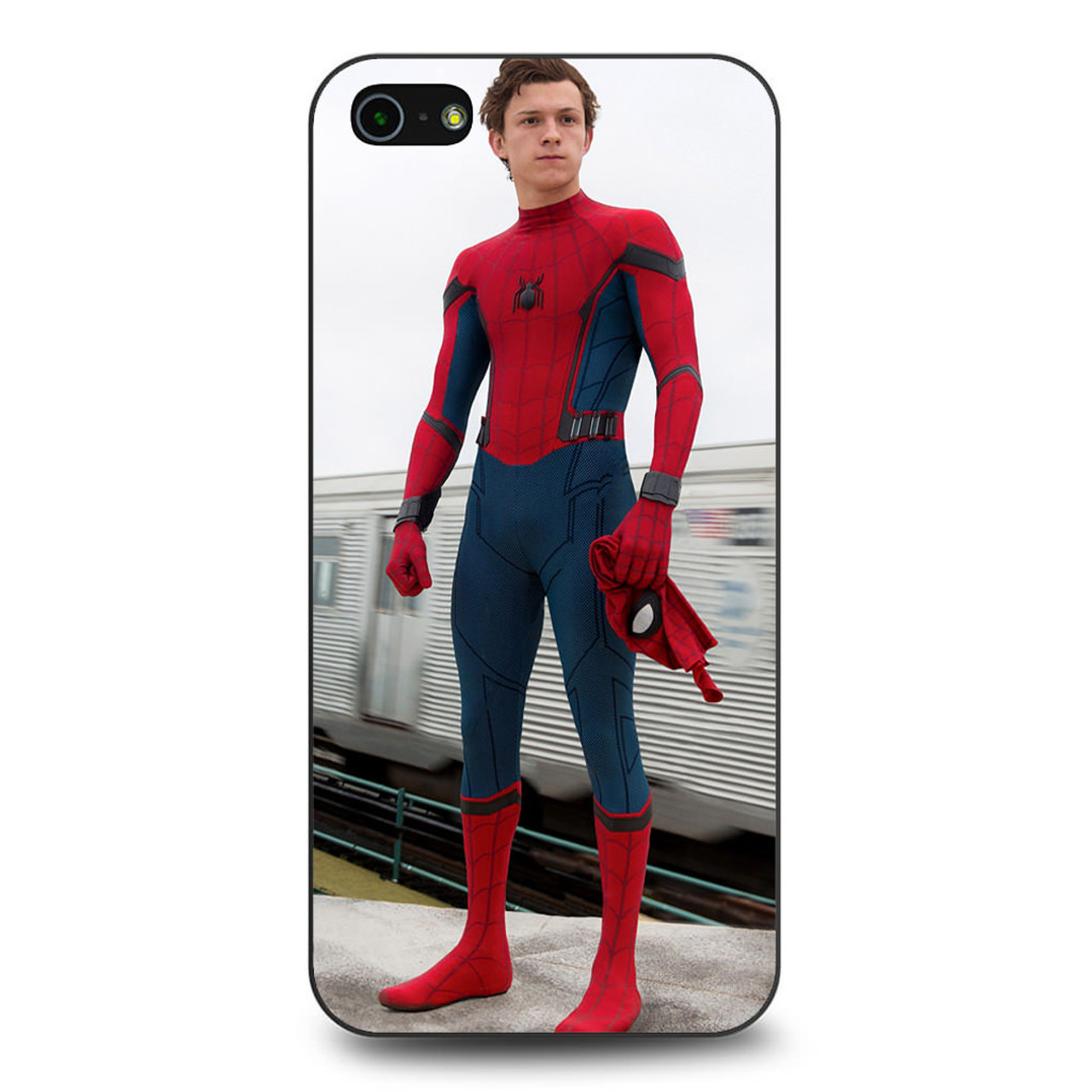 huge selection of 0604c a452c Spiderman Homecoming Tom Holland iPhone 5/5S/SE Case