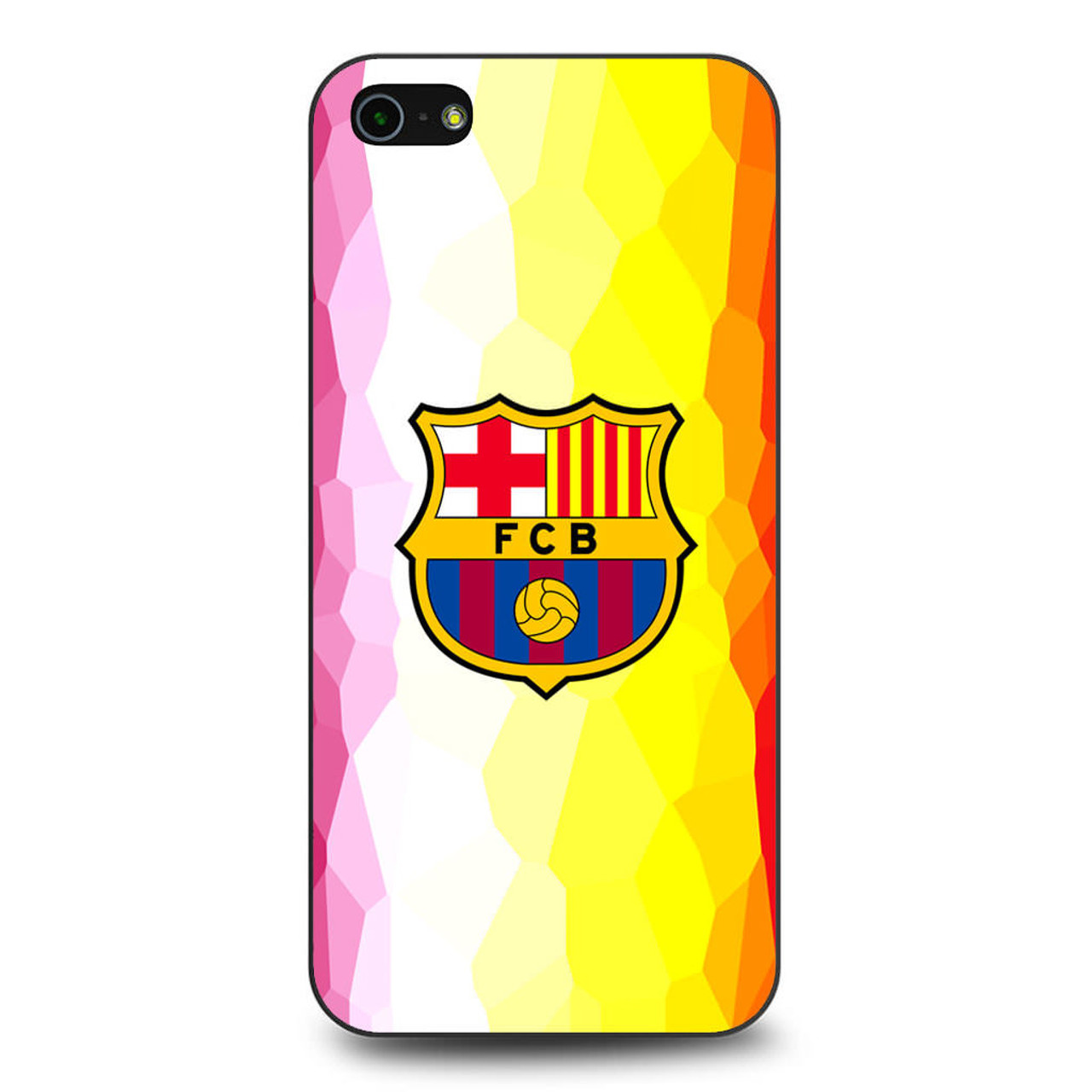 finest selection c99bb e478f FC Barcelona Mozaic iPhone 5/5S/SE Case