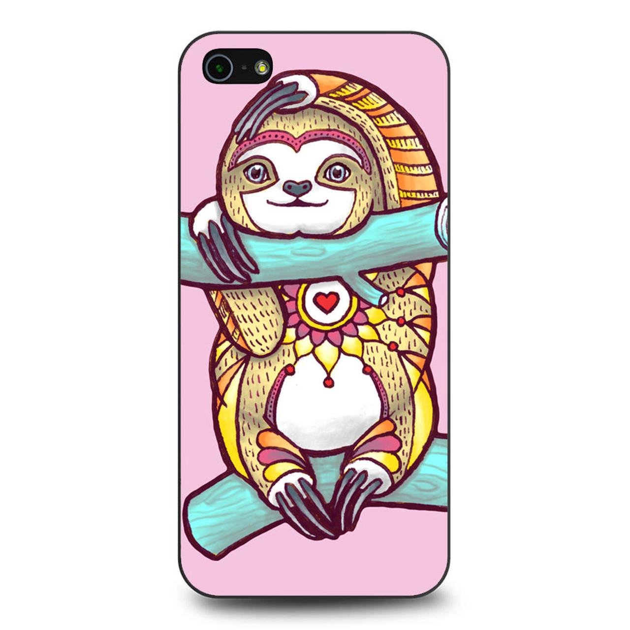 best sneakers a11d1 a0e1c Mandala Sloth iPhone 5/5S/SE Case