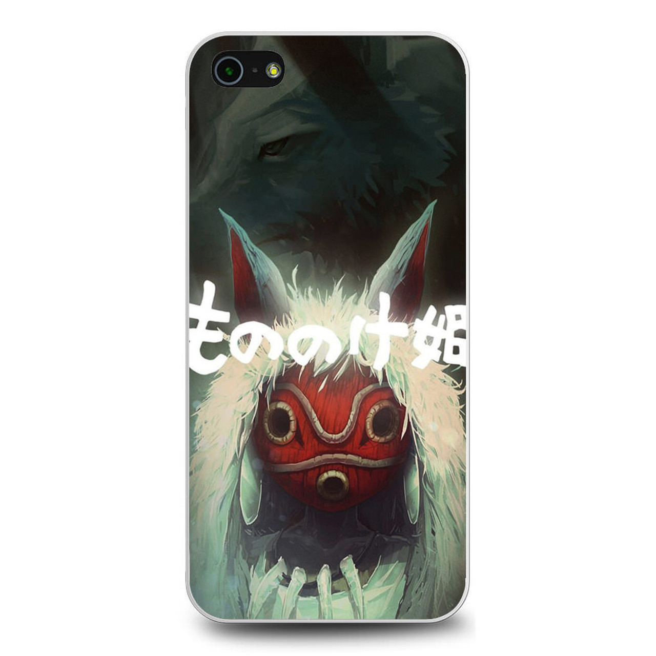 Princess Mononoke Mask White iphone case