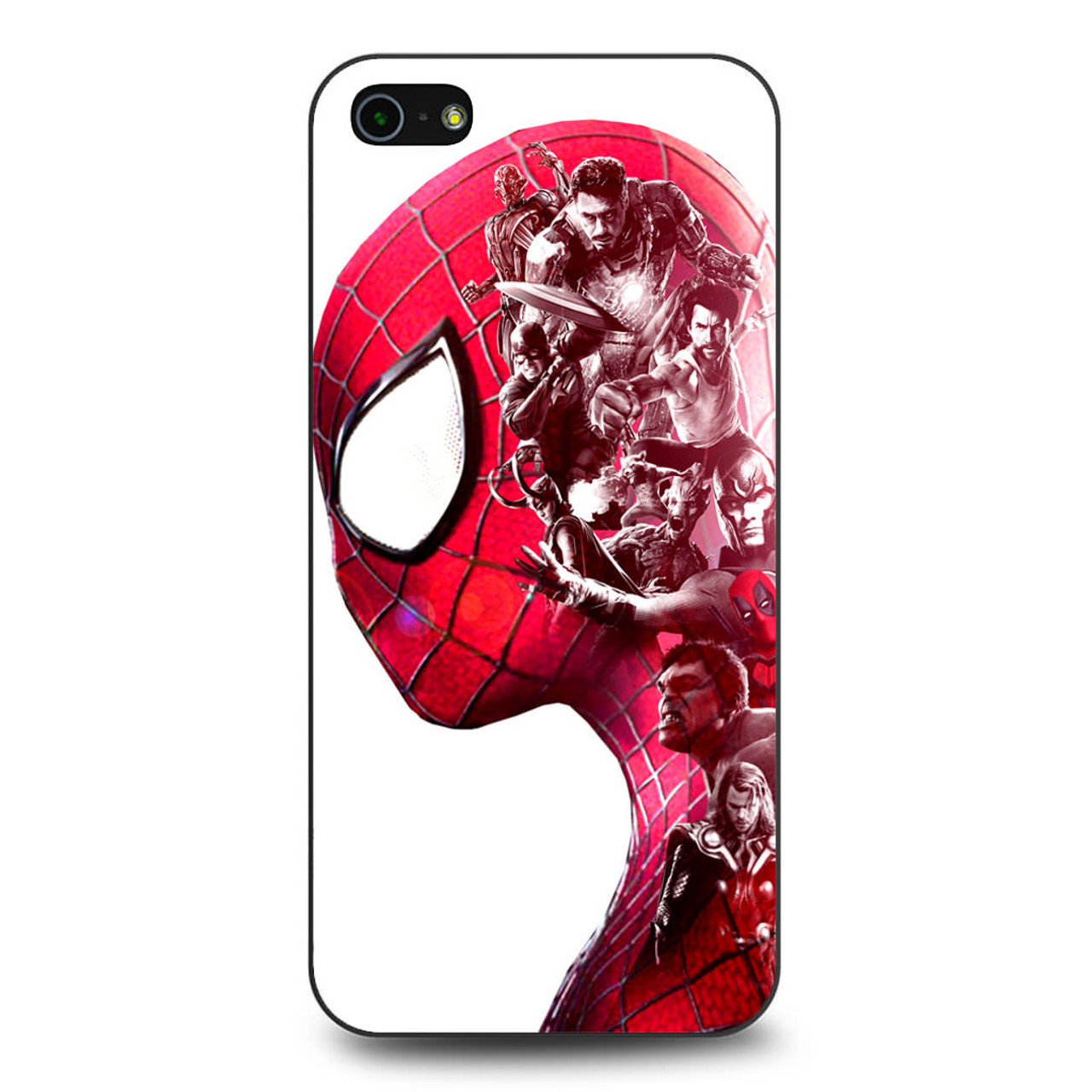 buy online d19da ad721 Spiderman Superheroes Marvel iPhone 5/5S/SE Case