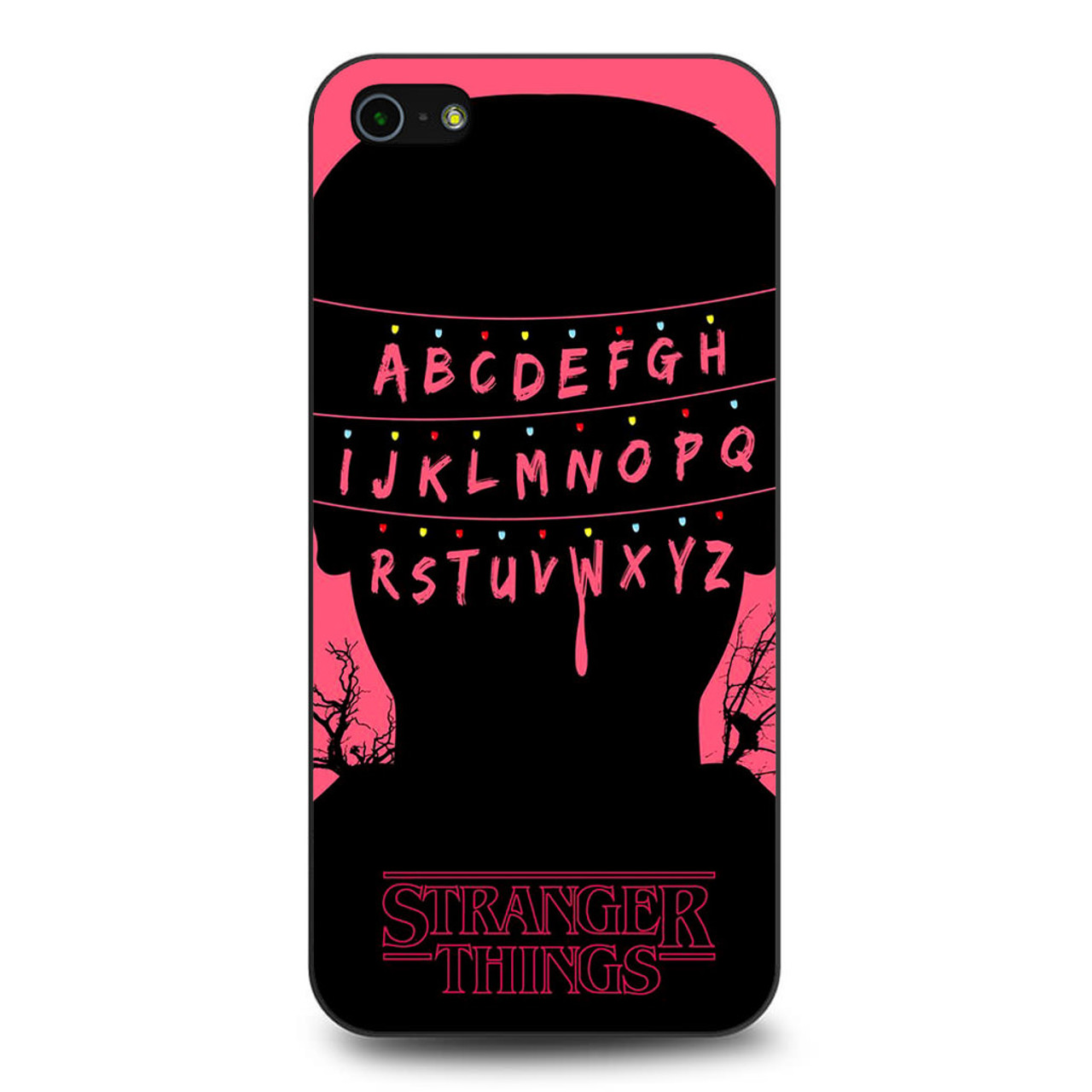 size 40 864b9 bcd86 Stranger Things Alphabets iPhone 5/5S/SE Case