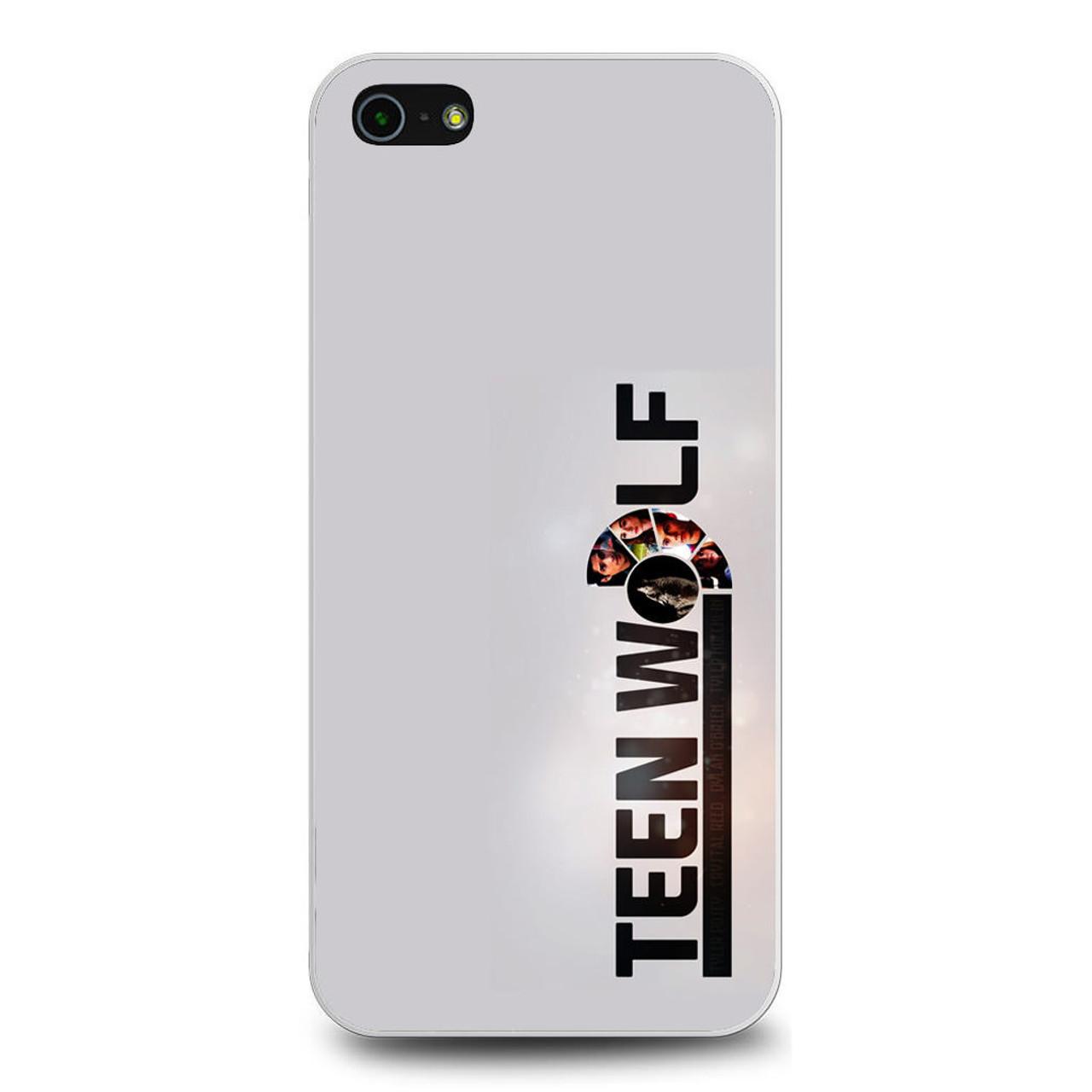 Teen Wolf Logo iPhone 5/5S/SE Case