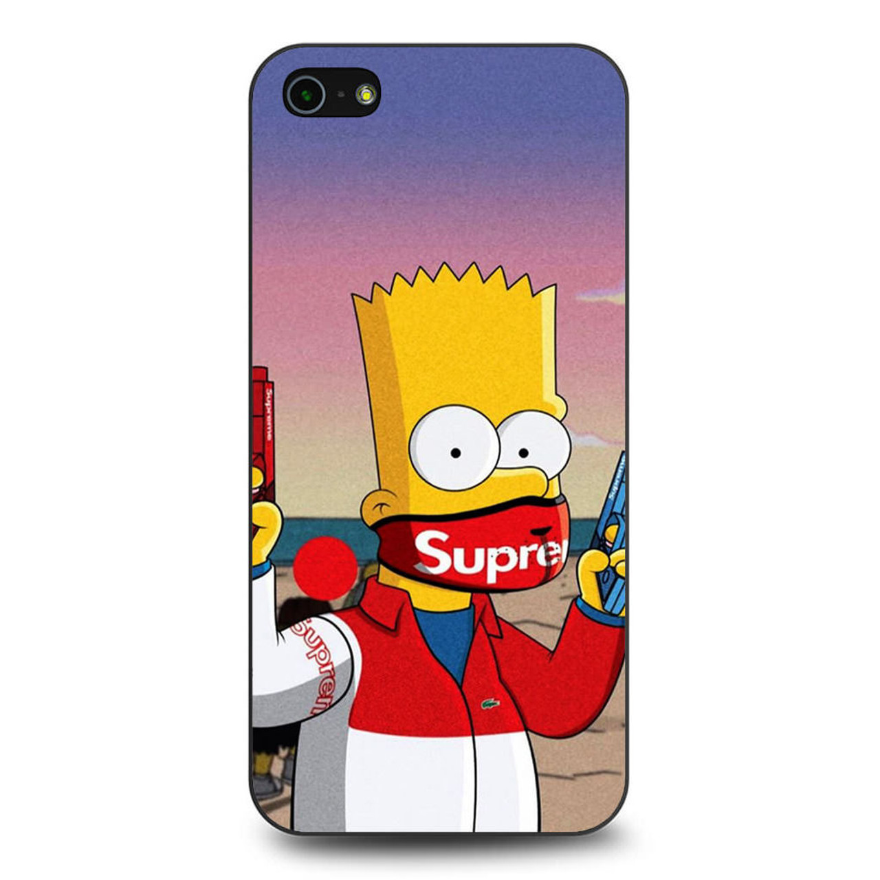 best authentic a571a 451ac Bart Supreme iPhone 5/5S/SE Case