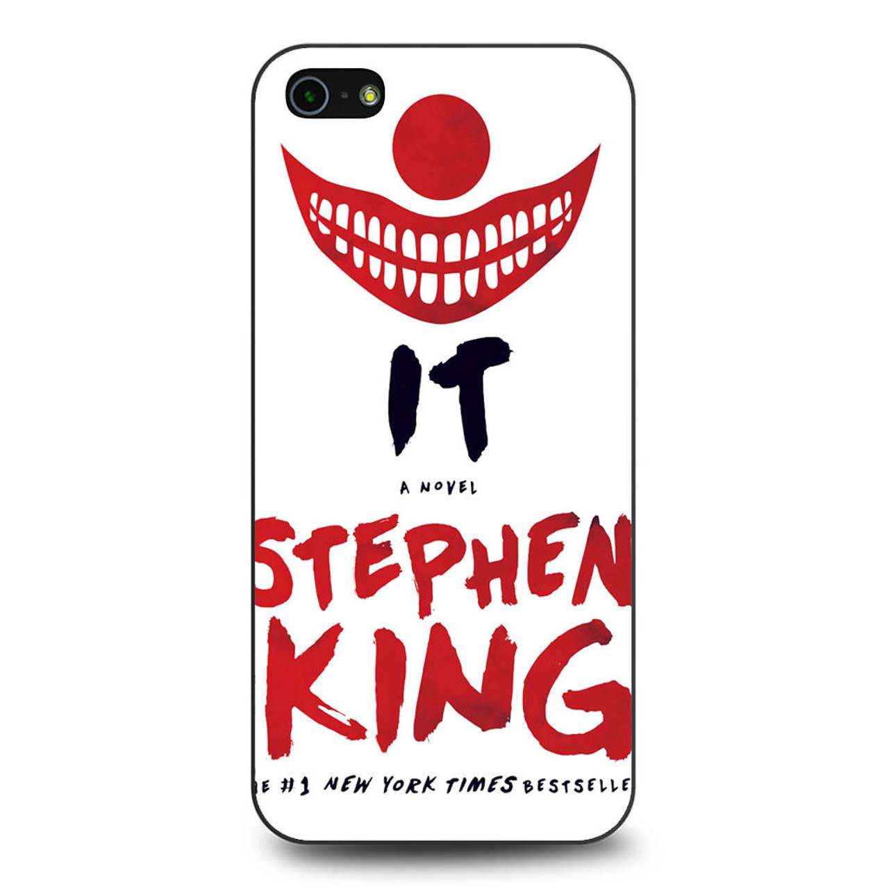 024583ce8c89 Stephen King IT Book Cover iPhone 5 5S SE Case - CASESHUNTER