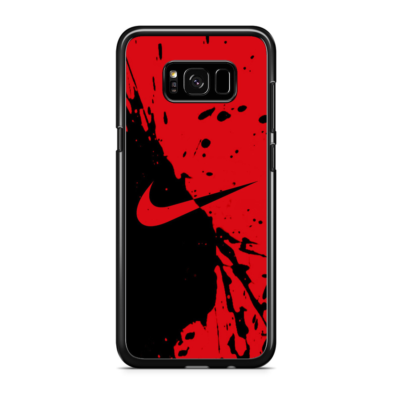 Nike Red and Black Samsung Galaxy S8 Case