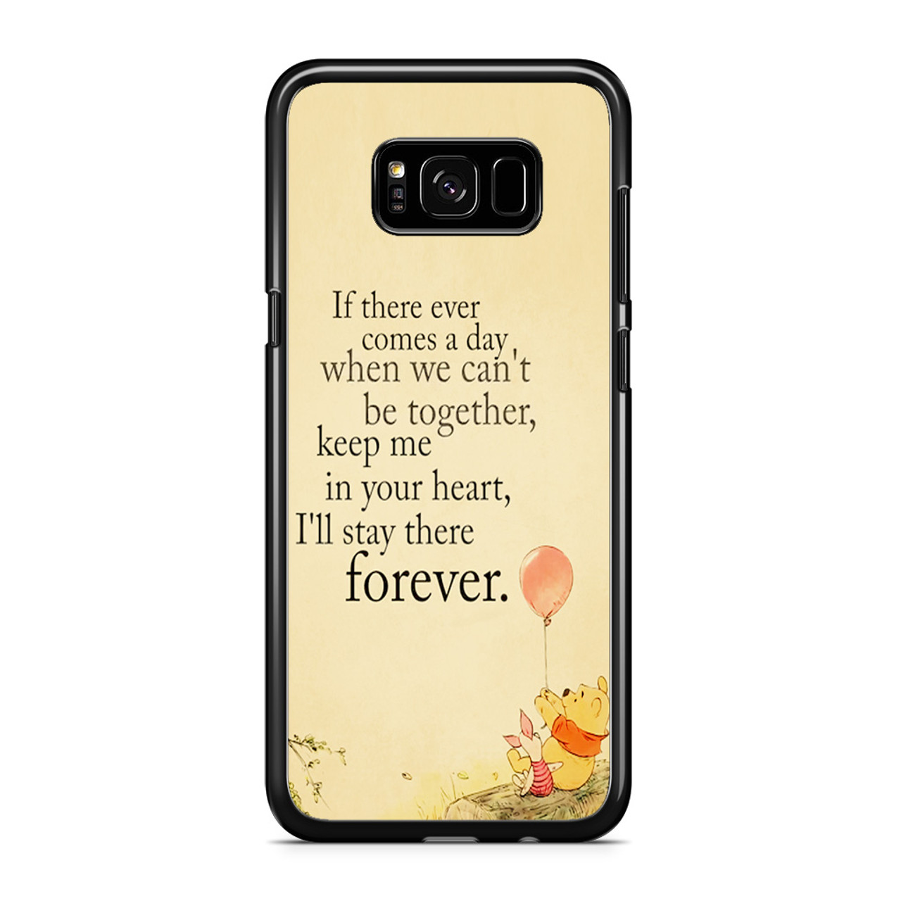 new style d38a6 6cc21 Winnie The Pooh Quotes Samsung Galaxy S8 Case