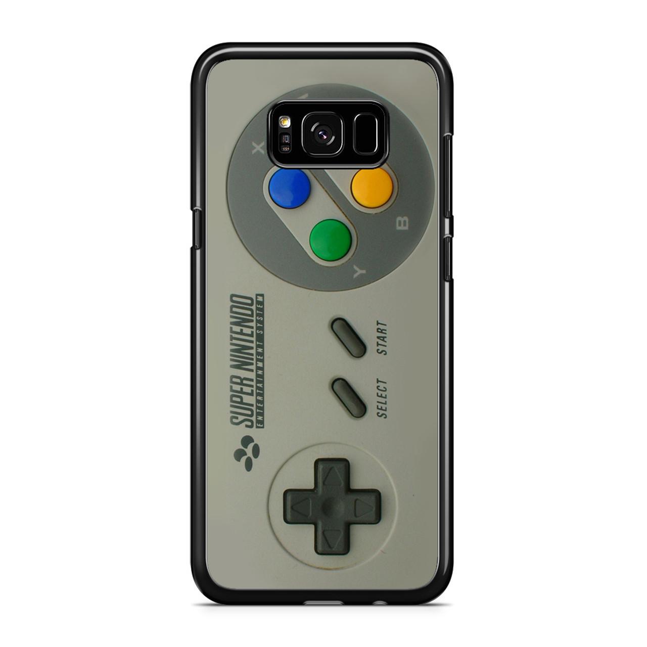 designer fashion 4664c cfc0d SNES Controller Samsung Galaxy S8 Case