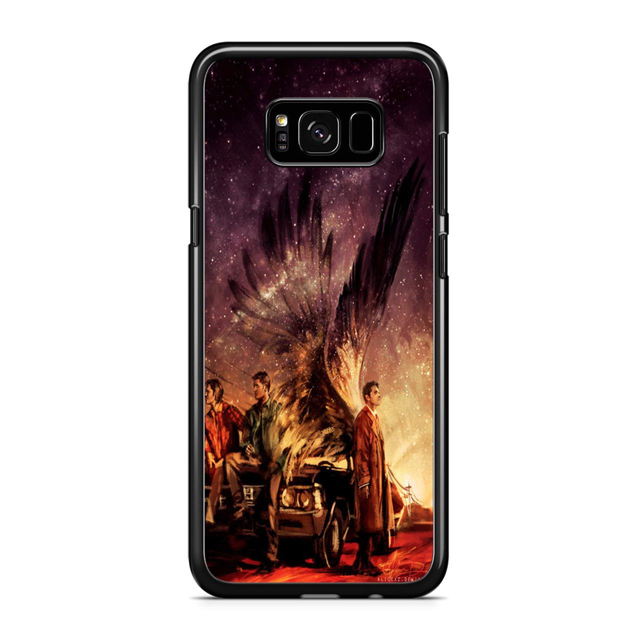 brand new 8eb41 2635d Supernatural Painting Art Samsung Galaxy S8 Case