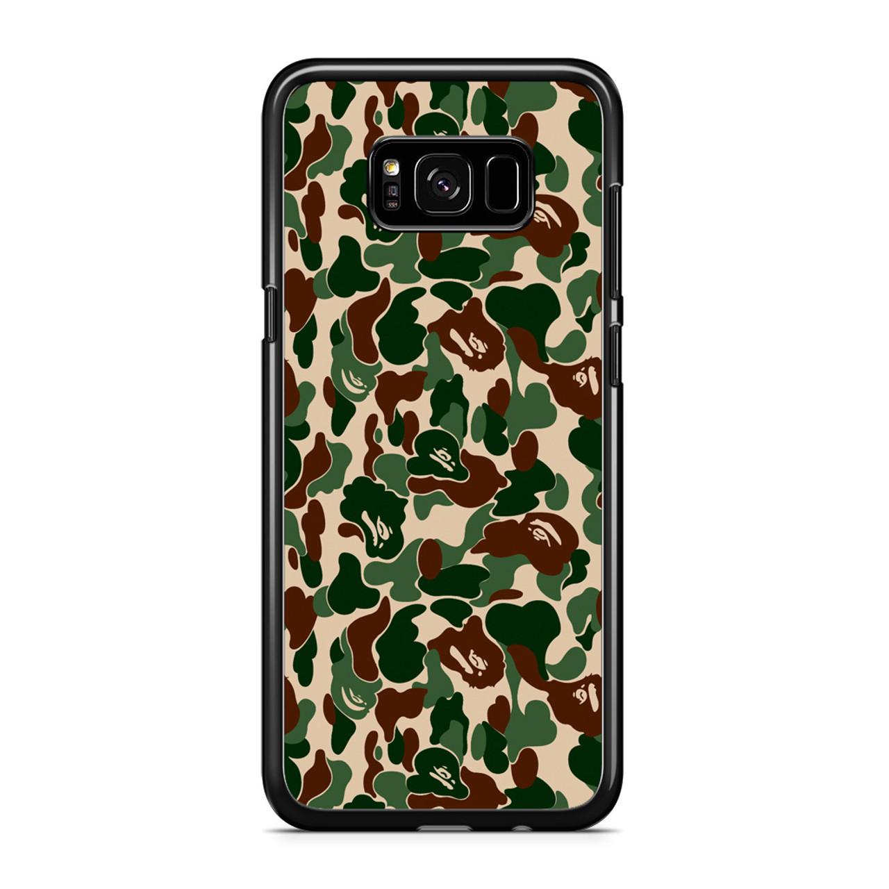 huge selection of 91c77 8544b Bathing Ape Bape Camo Real Tree Samsung Galaxy S8 Case