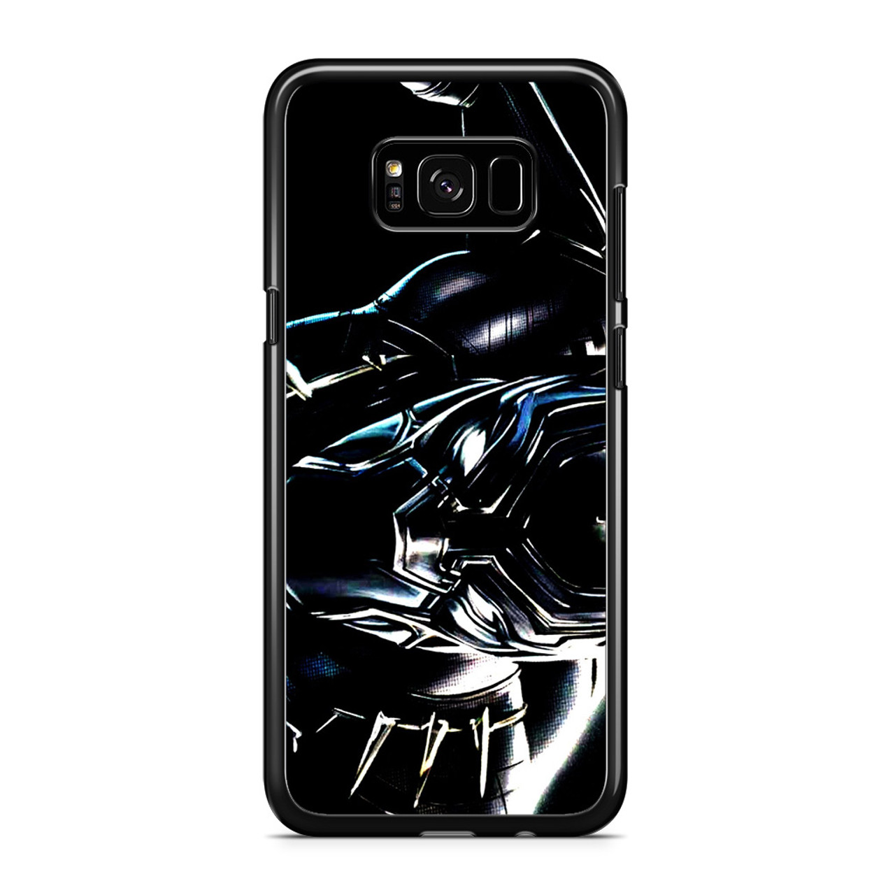buy popular b58dc 65e59 Black Panther Marvel Samsung Galaxy S8 Case