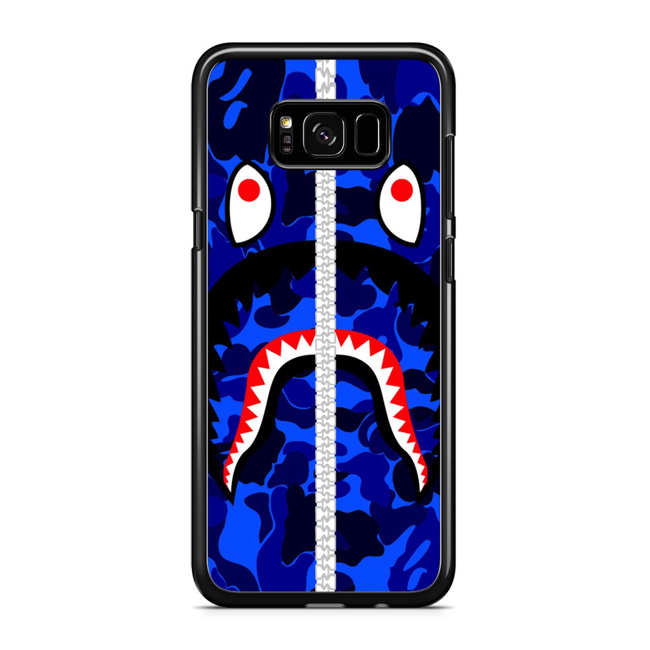 free shipping 95b57 abf1e Bape Shark Samsung Galaxy S8 Case