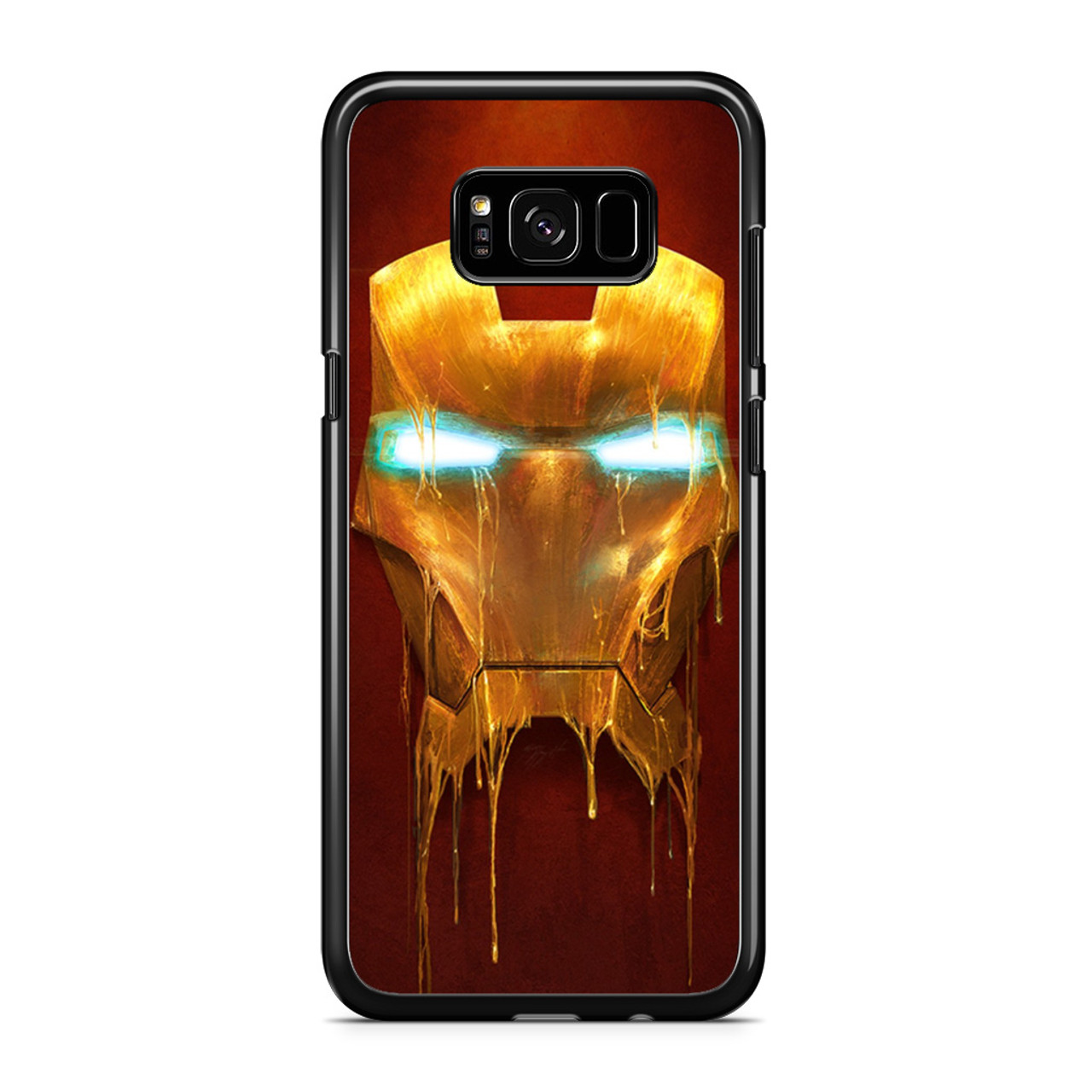 separation shoes 90519 abbe0 Iron Man 3 Mask Dripping Samsung Galaxy S8 Case