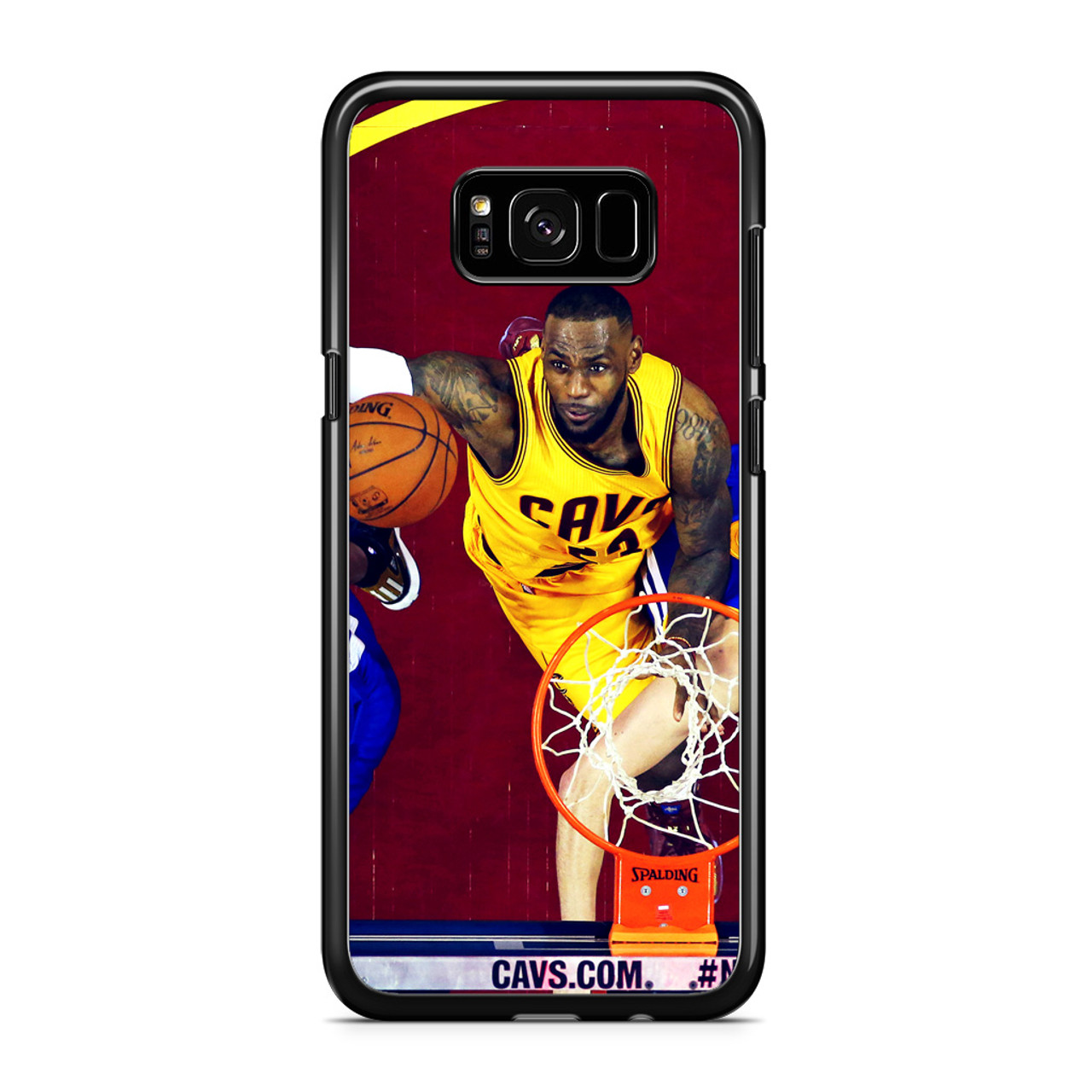 finest selection ab379 14b1f Lebron James Nba Basketball Rebound Samsung Galaxy S8 Case