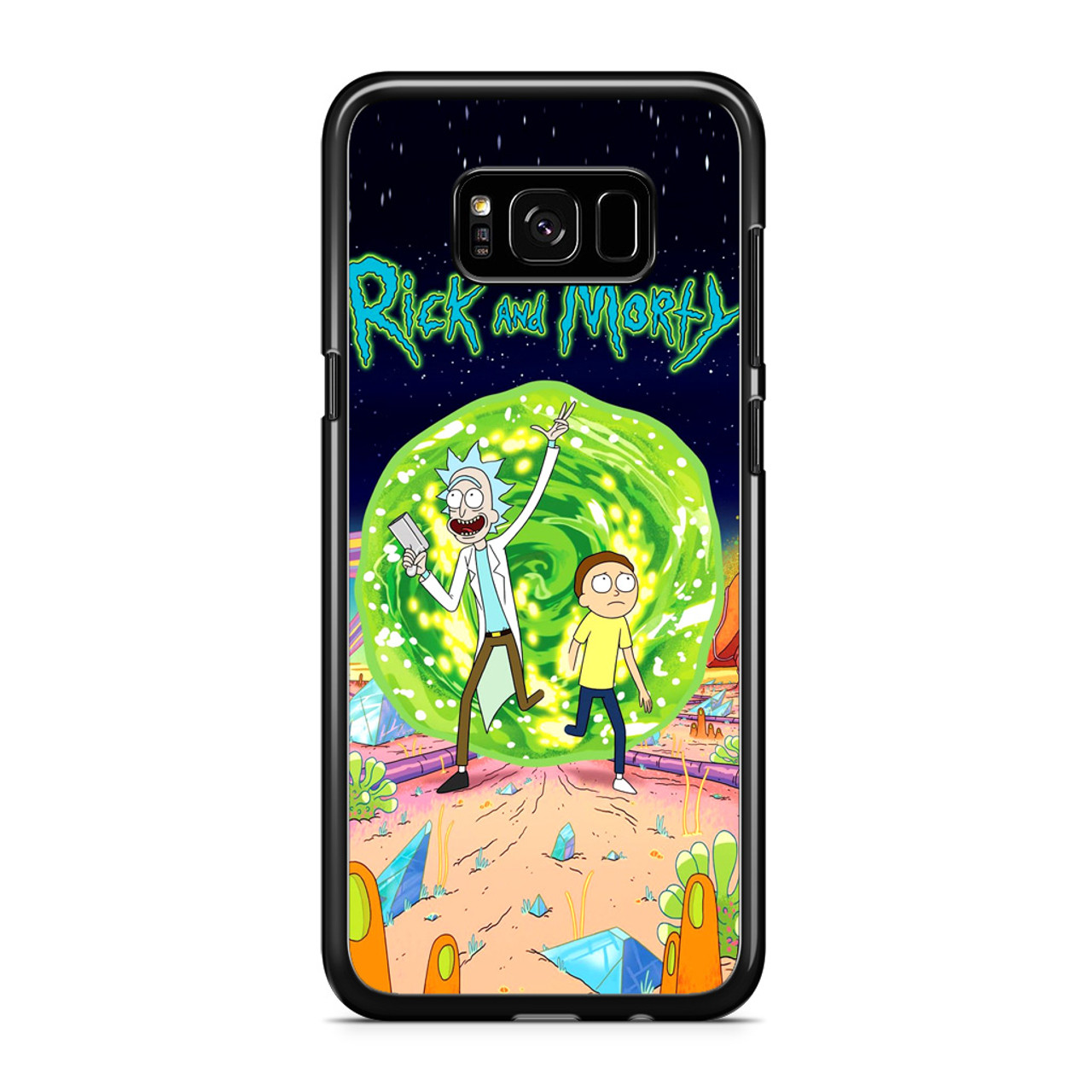 low priced 2b57e 29851 Rick and Morty Poster Samsung Galaxy S8 Case