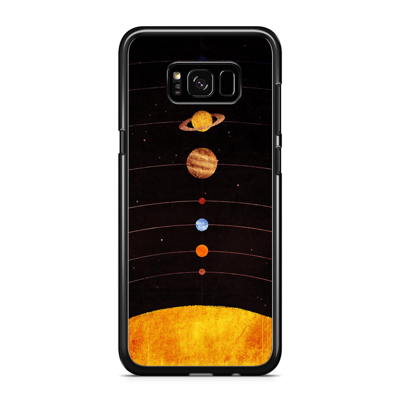 sale retailer d62a4 666b6 Solar System Samsung Galaxy S8 Case