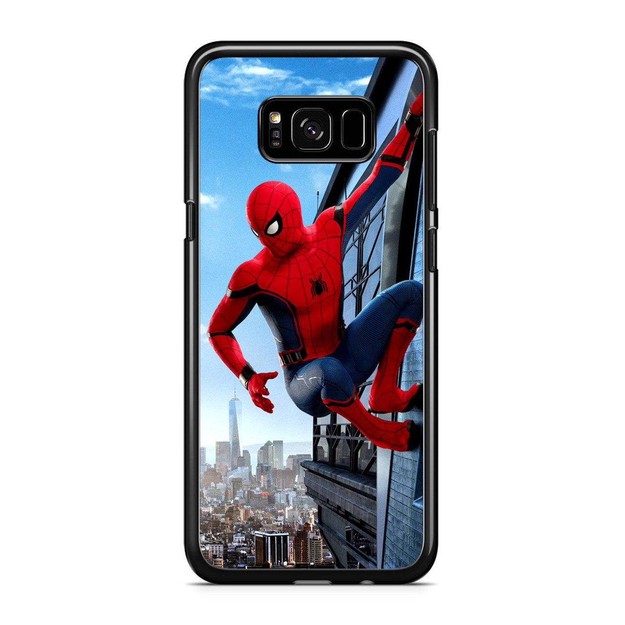 competitive price 61efb 92b47 Homecoming Spiderman Samsung Galaxy S8 Case