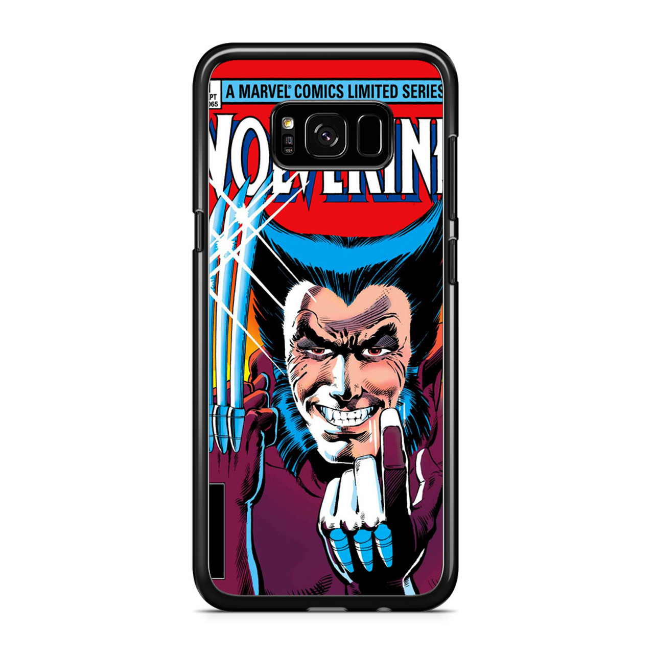 los angeles 10530 e9902 Marvel Comics Cover Wolverine Samsung Galaxy S8 Case