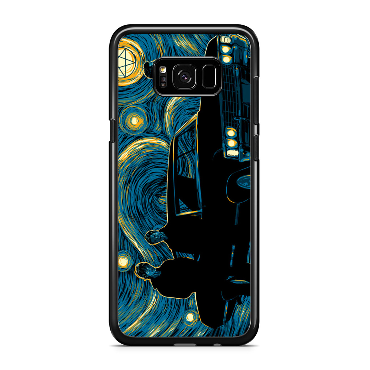 newest 1da66 05c55 Supernatural Night Samsung Galaxy S8 Case