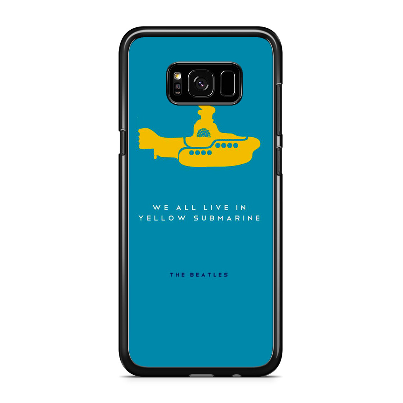 reputable site c5956 abcf8 The Beatles Yellow Submarine Samsung Galaxy S8 Case