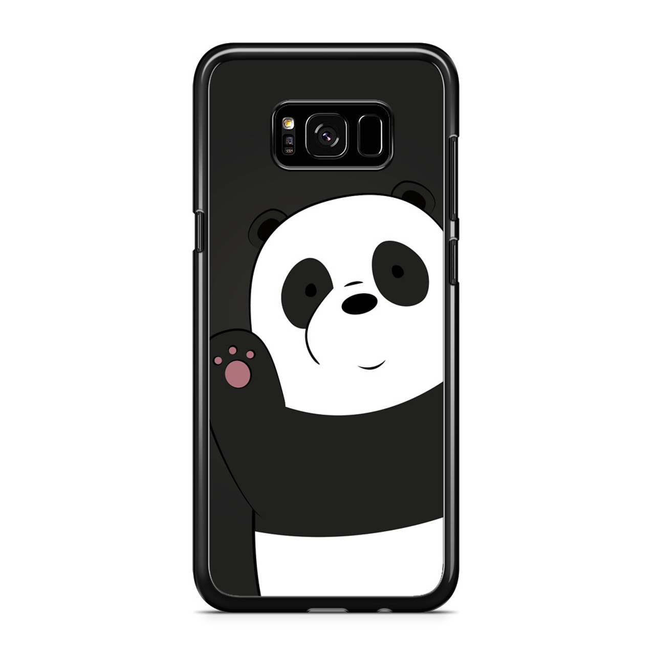 new arrival 851a2 cfaf3 Pan Pan We Bare Bears Samsung Galaxy S8 Case
