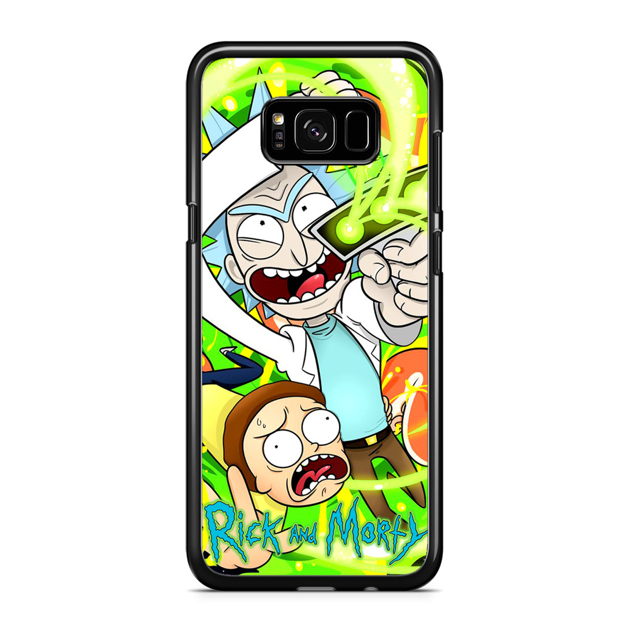 size 40 9c735 65ff5 Rick And Morty 3 Samsung Galaxy S8 Case