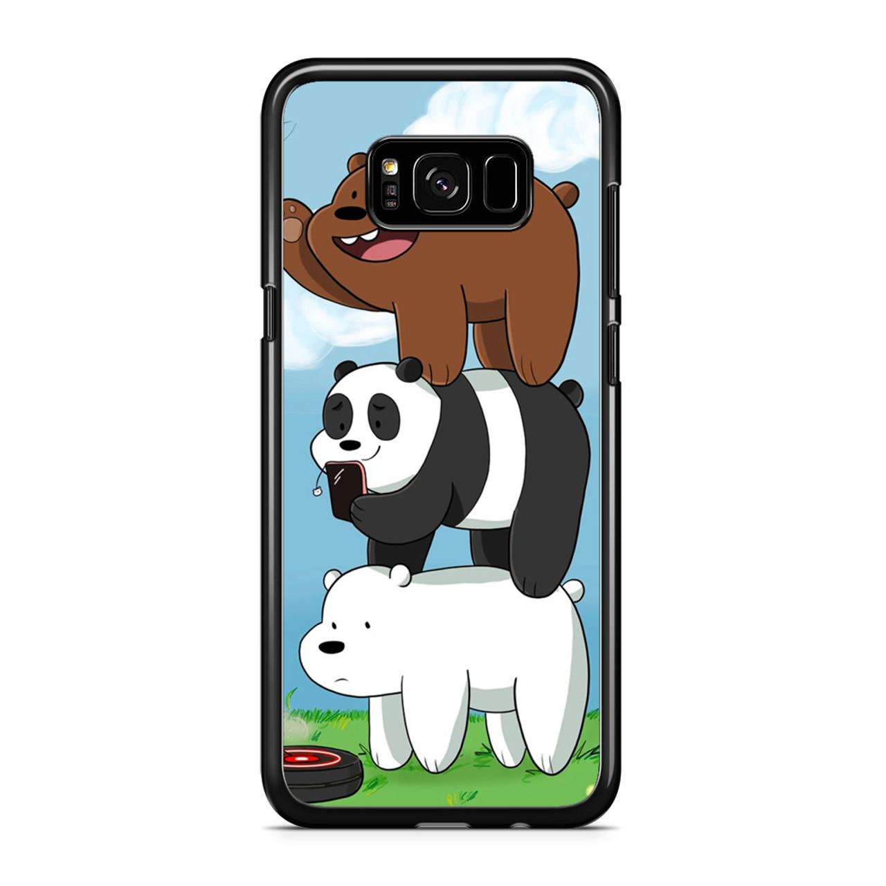 best service ea6f3 2ef3e We Bare Bears Grizz Samsung Galaxy S8 Case