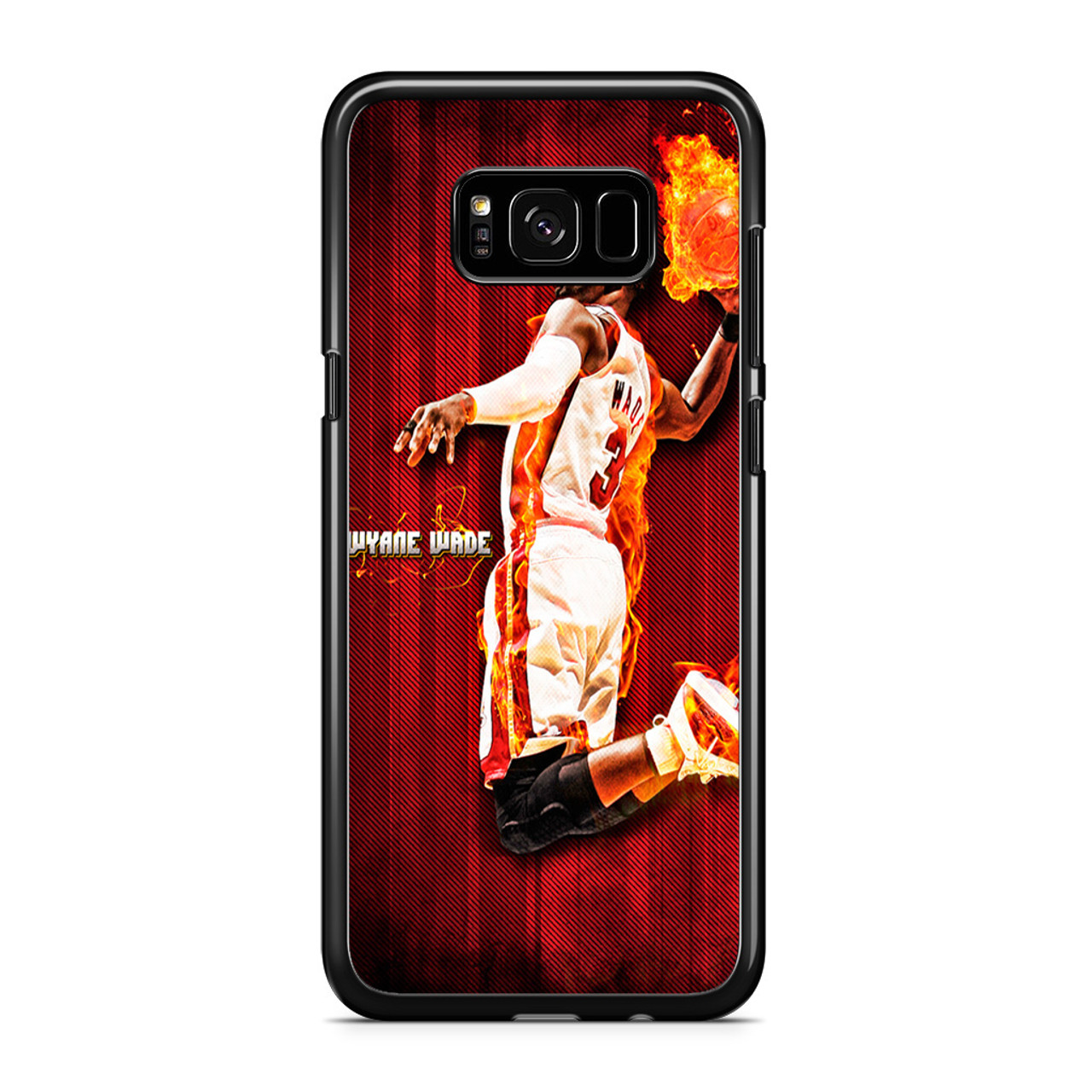 72def3e6e Miami Heat Dwyane Wade Samsung Galaxy S8 Plus Case - CASESHUNTER
