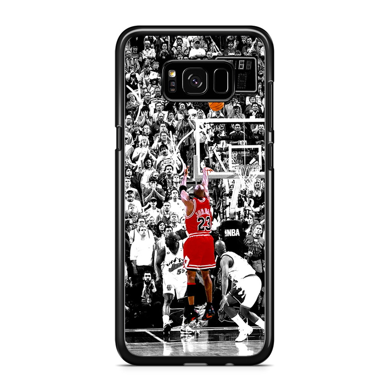 hot sales 3e9d3 ea727 Michael Jordan Shoot in NBA Samsung Galaxy S8 Plus Case