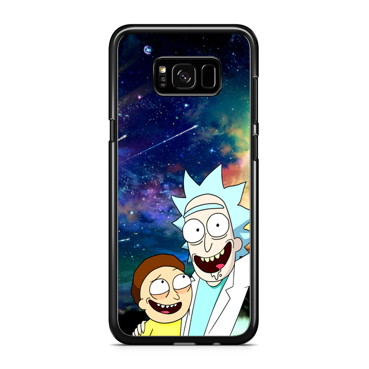 new style cf9c3 d171a Rick and Morty Samsung Galaxy S8 Plus Case