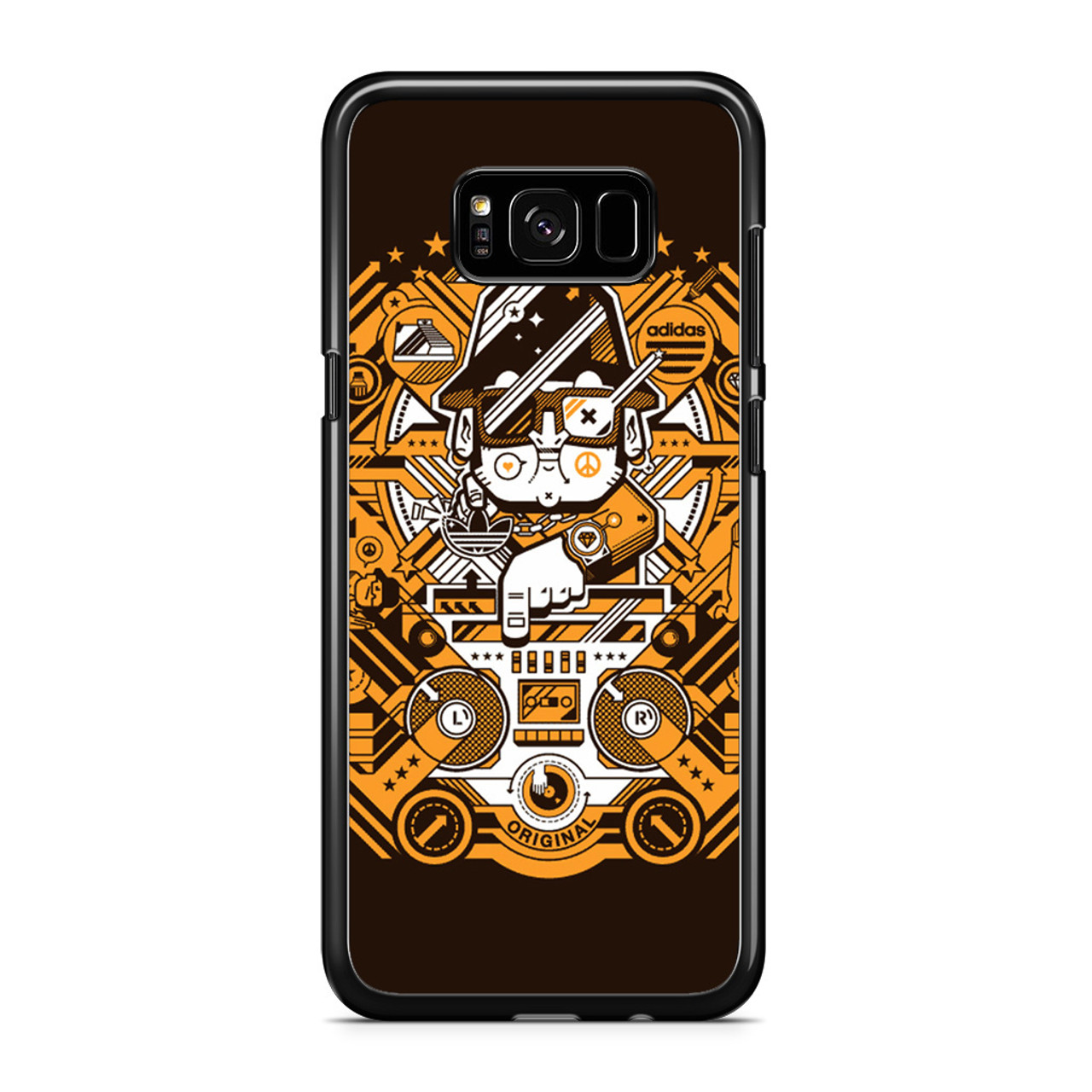purchase cheap e4cb2 ea4f2 Adidas Style Samsung Galaxy S8 Plus Case