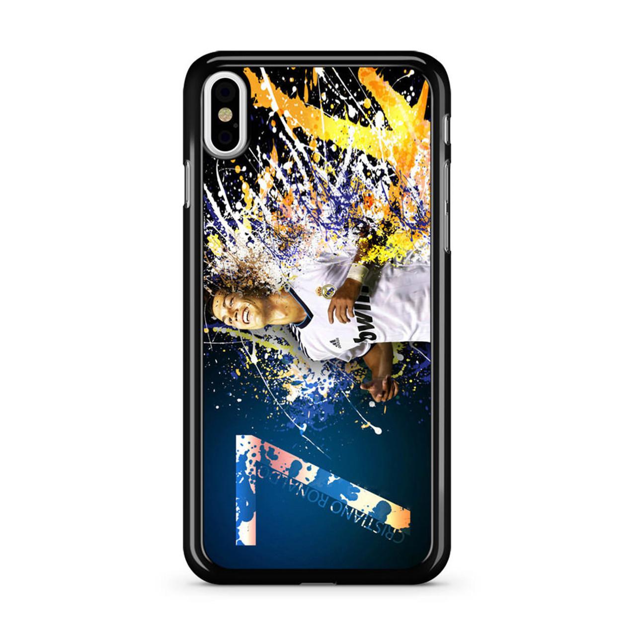 new styles ba262 19767 7 Cristiano Ronaldo iPhone X Case