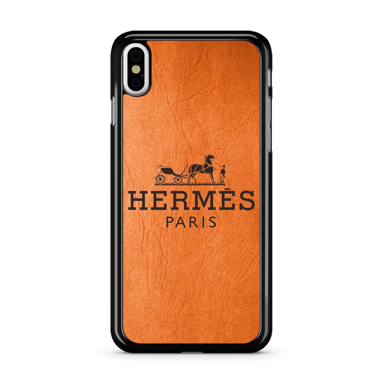 release date 58bf9 79503 Hermes Paris iPhone X Case