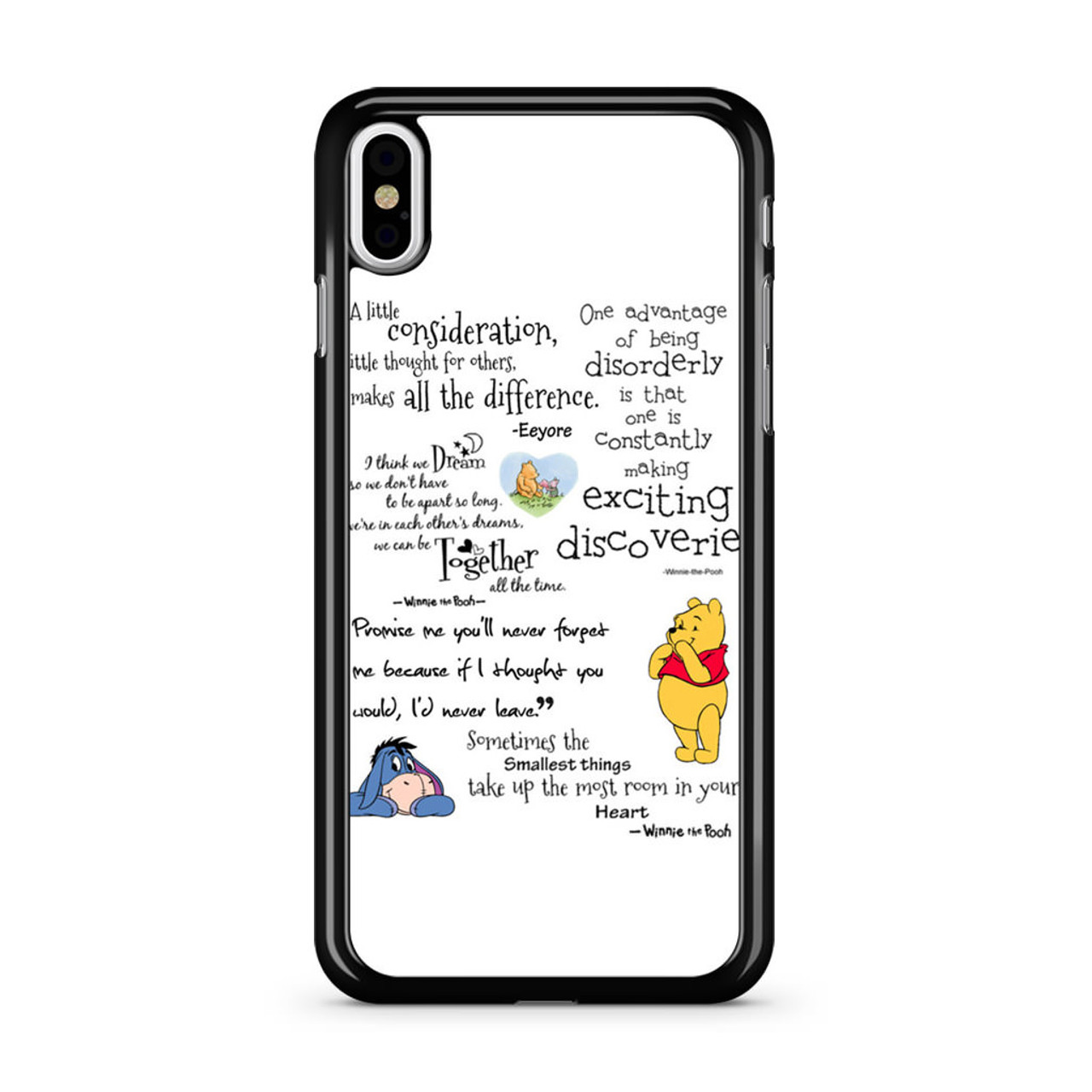 timeless design c64db 90914 Winnie The Pooh iPhone X Case