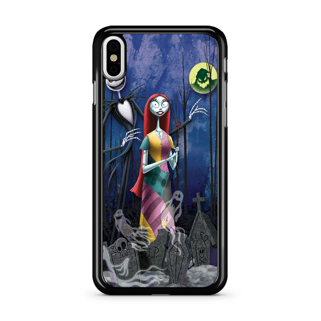 Christmas Iphone X Case.Nightmare Before Christmas Romance Iphone X Case