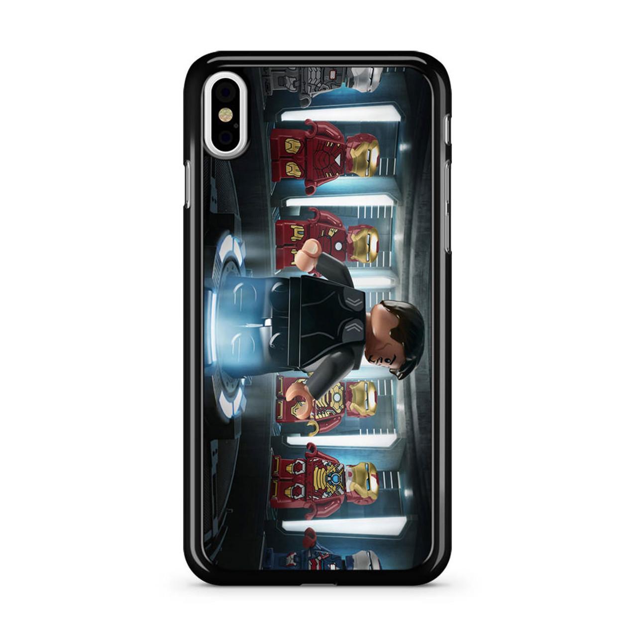 factory price 7a479 42fc1 Iron Man Lego iPhone X Case