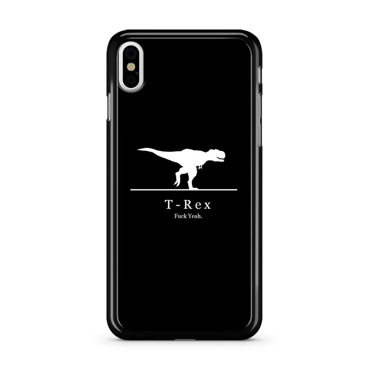 online store 3f60d f97c7 T-Rex iPhone X Case