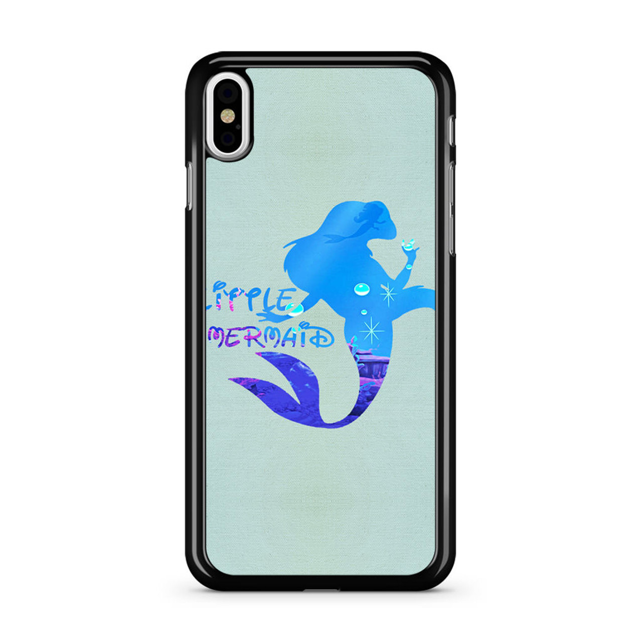 sports shoes e10f9 b24fa Ariel Quote Little Mermaid Disney iPhone X Case