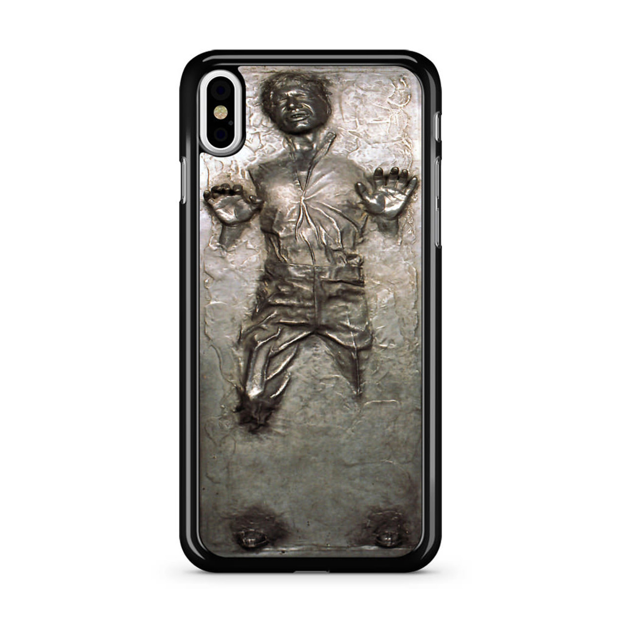 premium selection ca2b2 6bb8a Han Solo in Carbonite iPhone X Case
