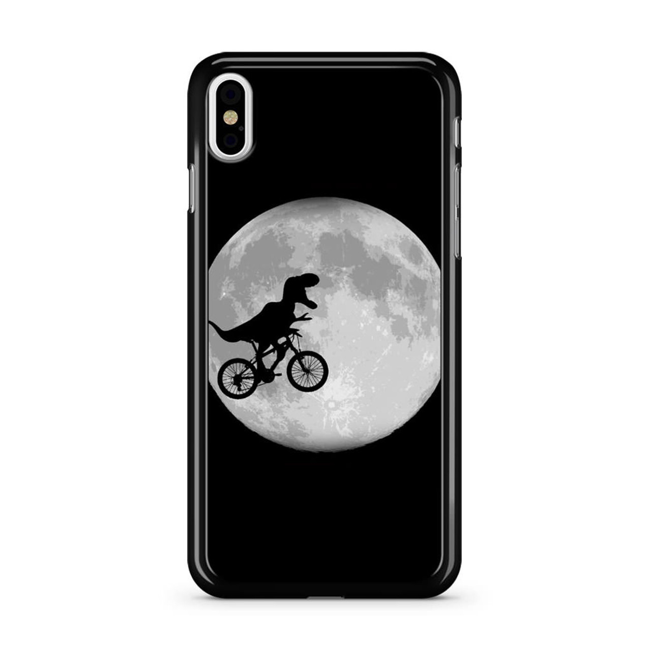 promo code a9ff8 6a651 Dinosaurus Bike To The Moon iPhone X Case