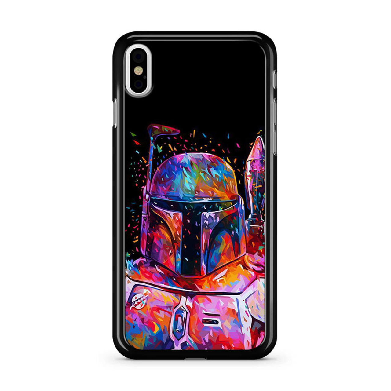 buy online 19834 54fa5 Star Wars Boba Fett Art iPhone X Case