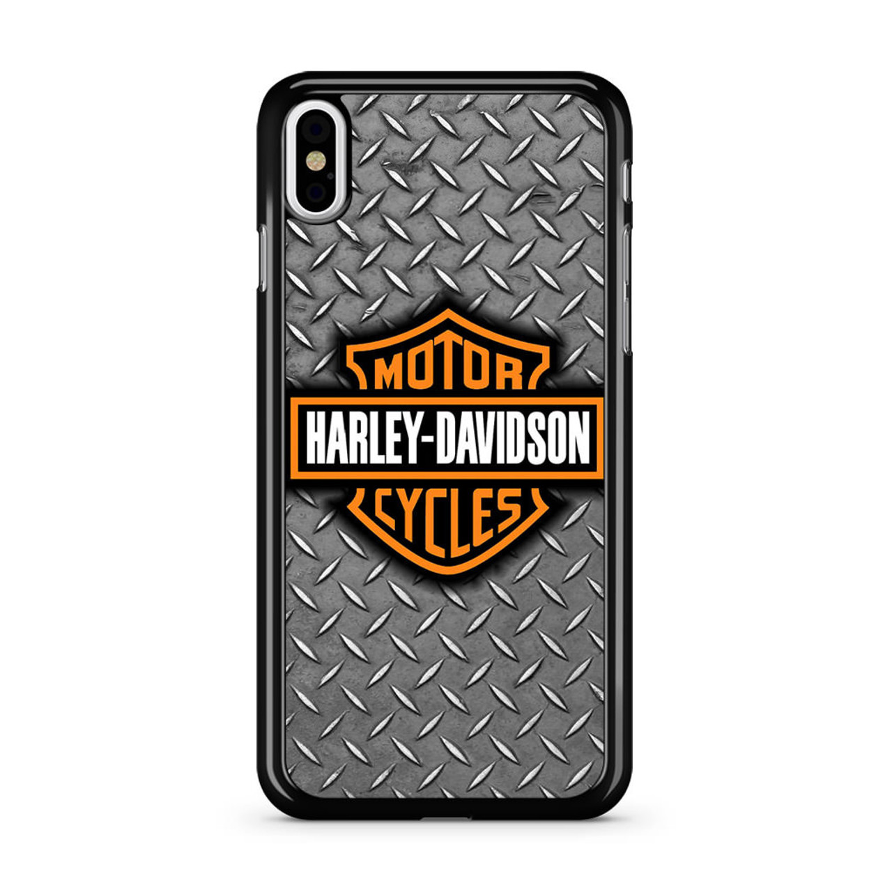 huge selection of 1c3b1 58278 Harley Davidson Motor Logo iPhone X Case