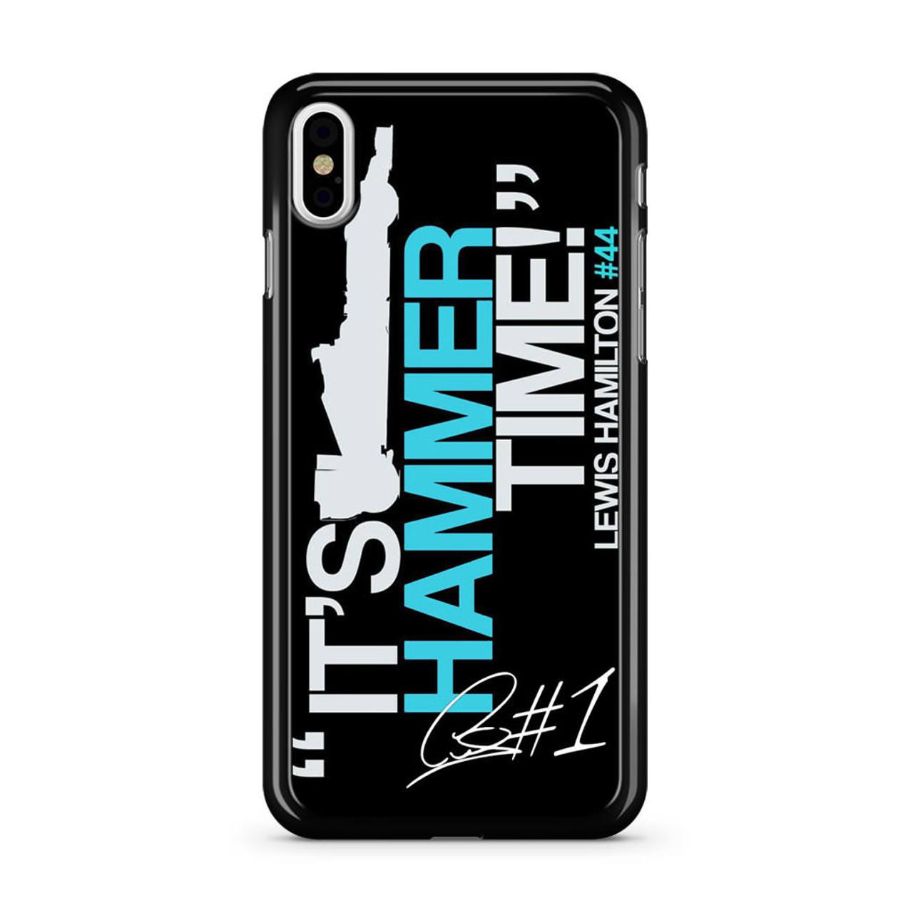 finest selection 186eb 43f19 Lewis Hamilton iPhone X Case
