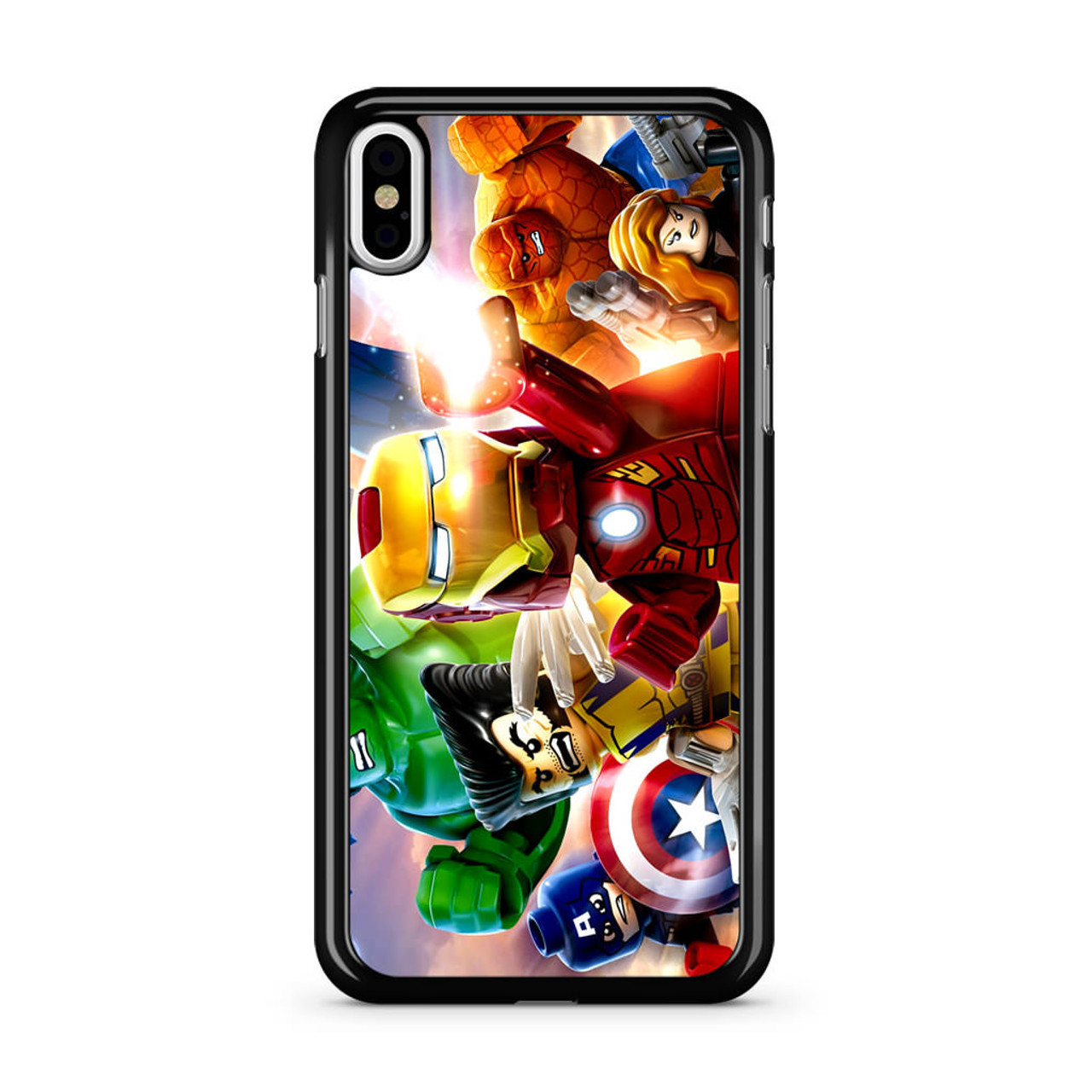 the best attitude 7ebe8 31142 Marvel Lego Character iPhone X Case