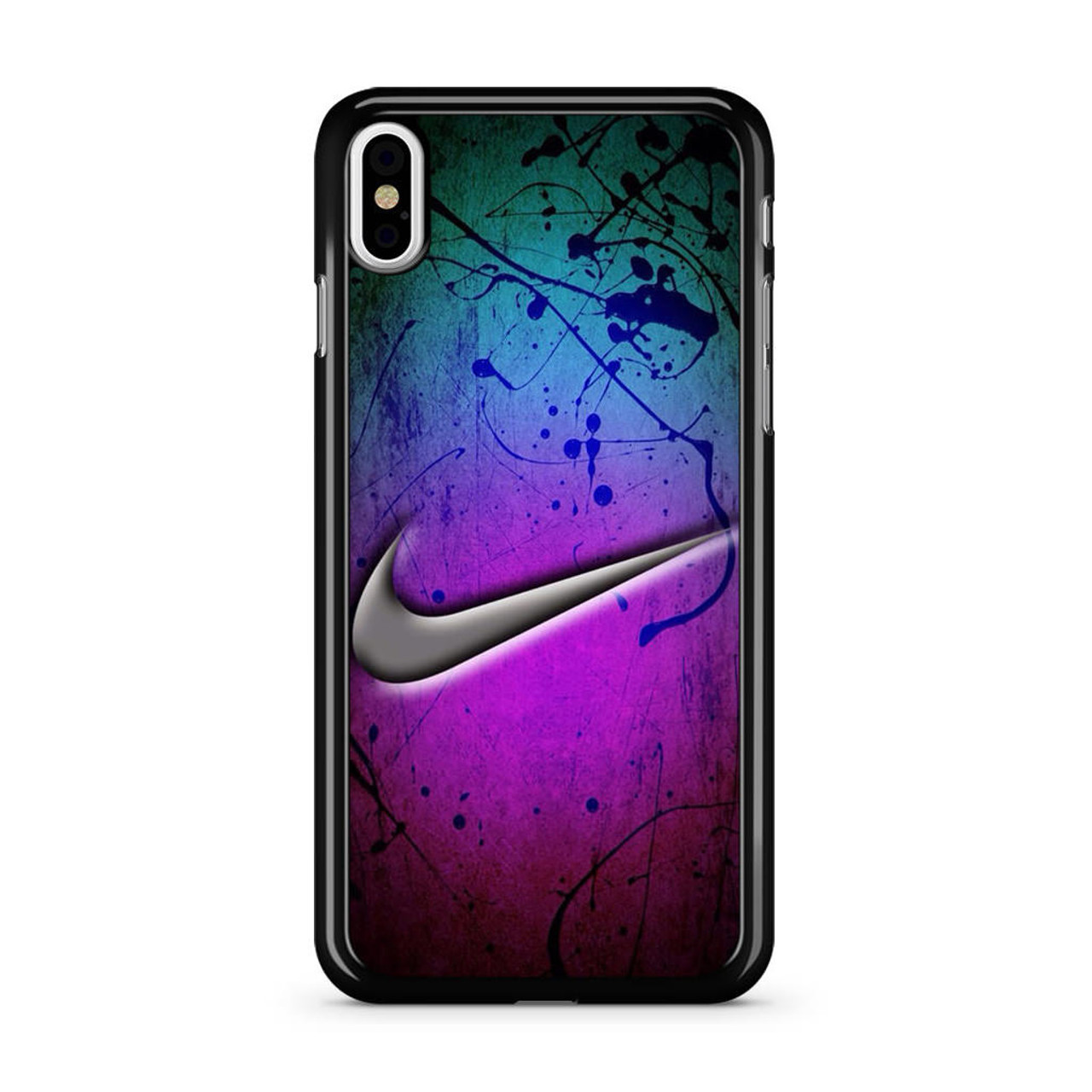 hot sale online f6490 40b24 Nike Holographic Style iPhone X Case
