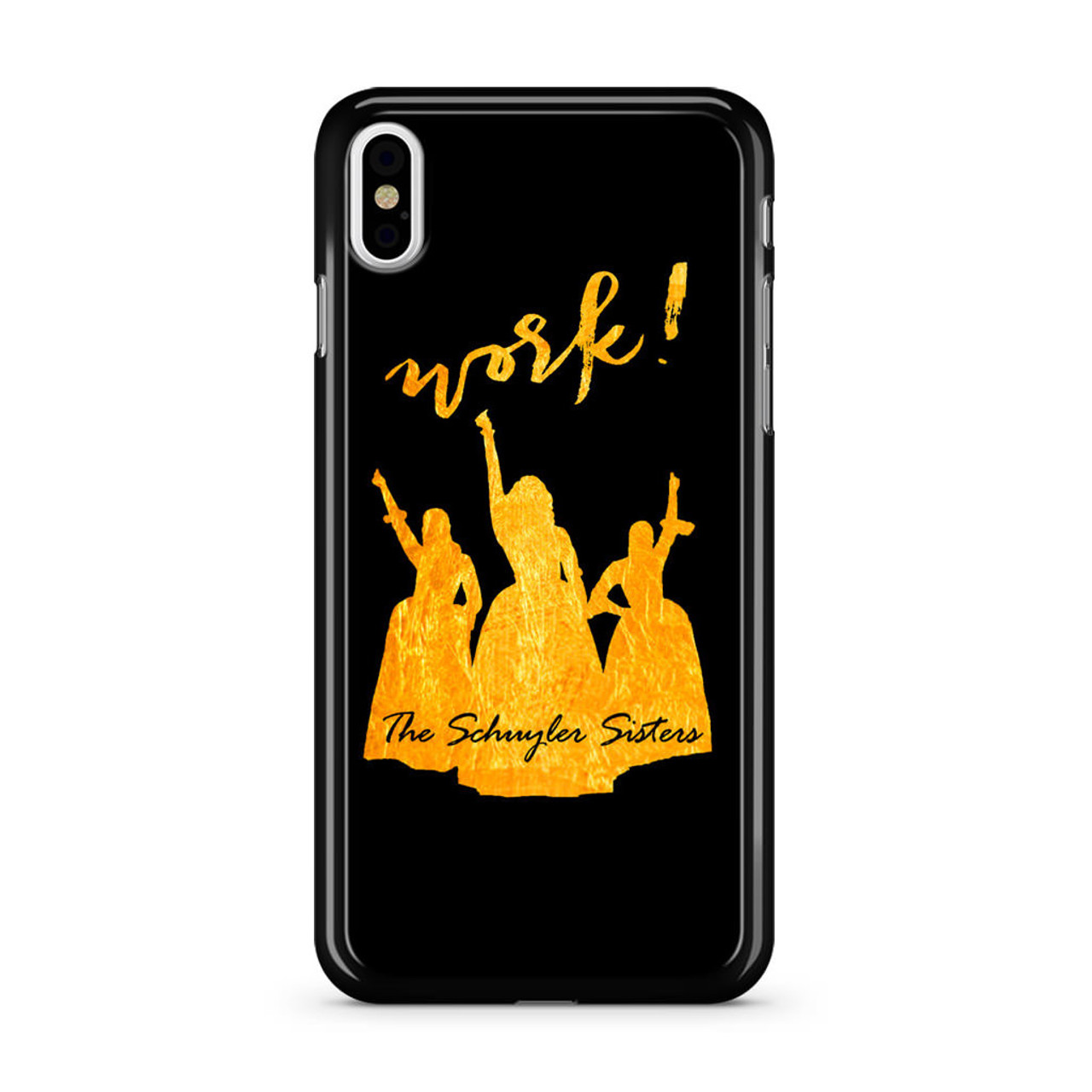 on sale 7c060 d1f58 The Schuyler Sisters Hamilton iPhone X Case