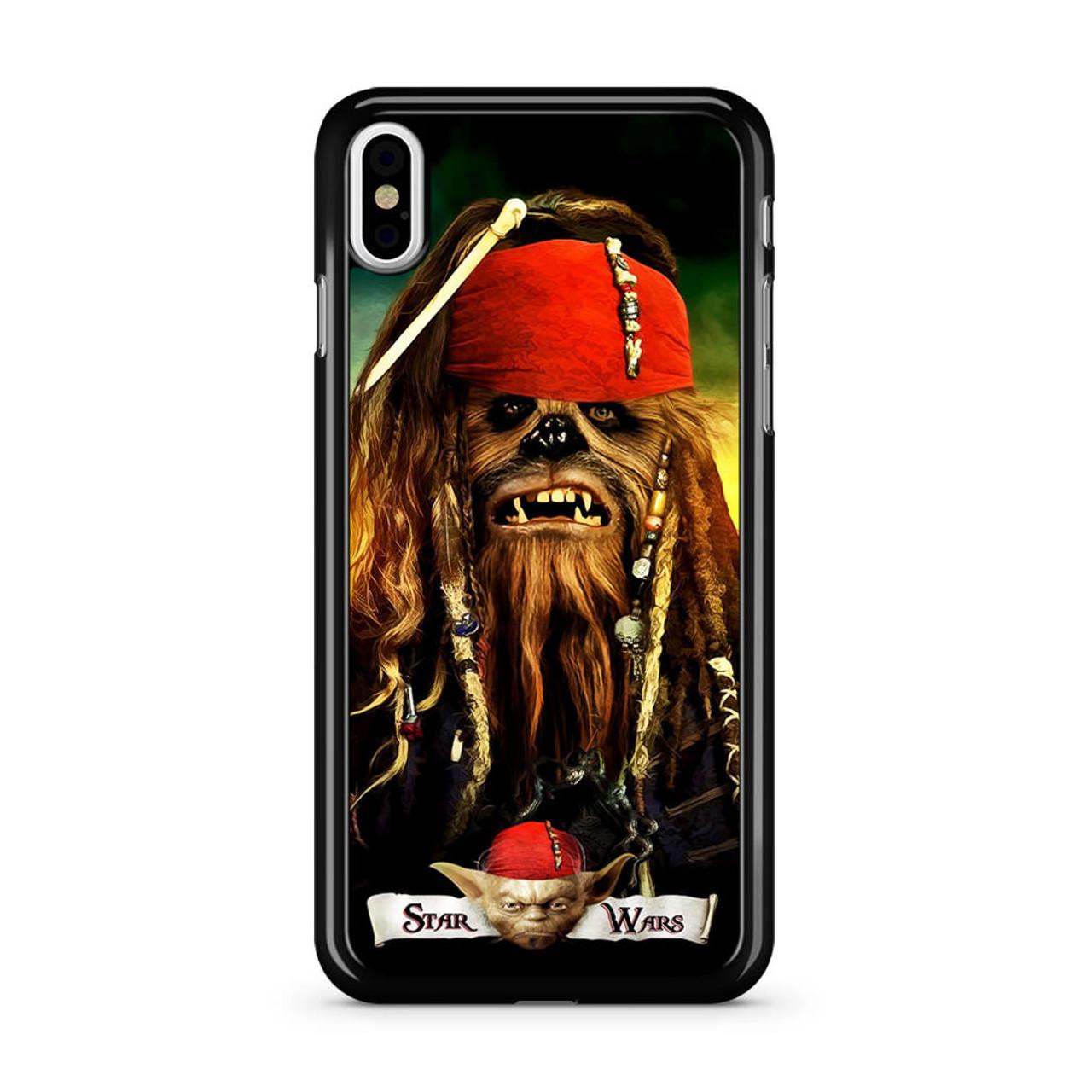 brand new 2bf12 f4584 Captain Chewbacca Pirate iPhone X Case