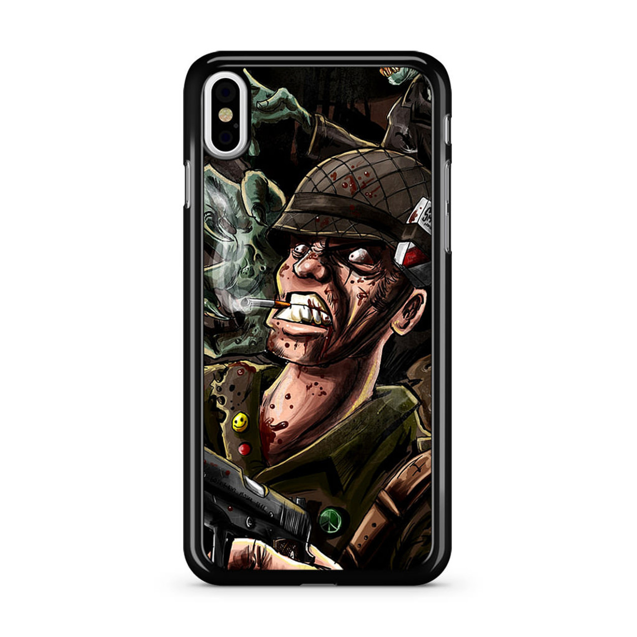 check out c2aaa 49186 Dark Zombie Army iPhone X Case