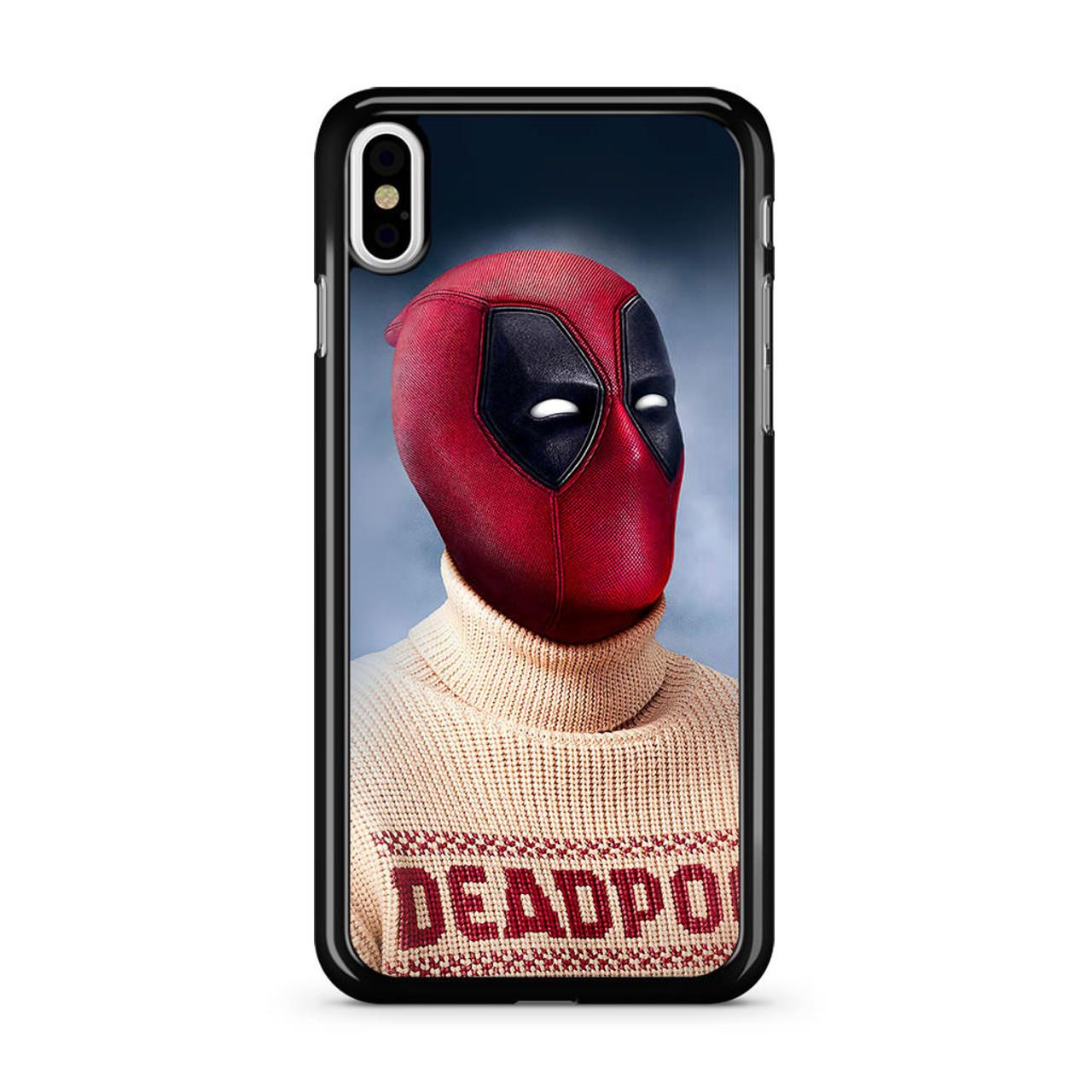 online retailer 1f7fe dcb93 Deadpool Sweater iPhone X Case